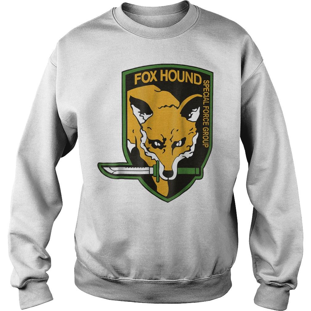 Metal Gear Fox Hound special force group shirt Sweatshirt Unisex