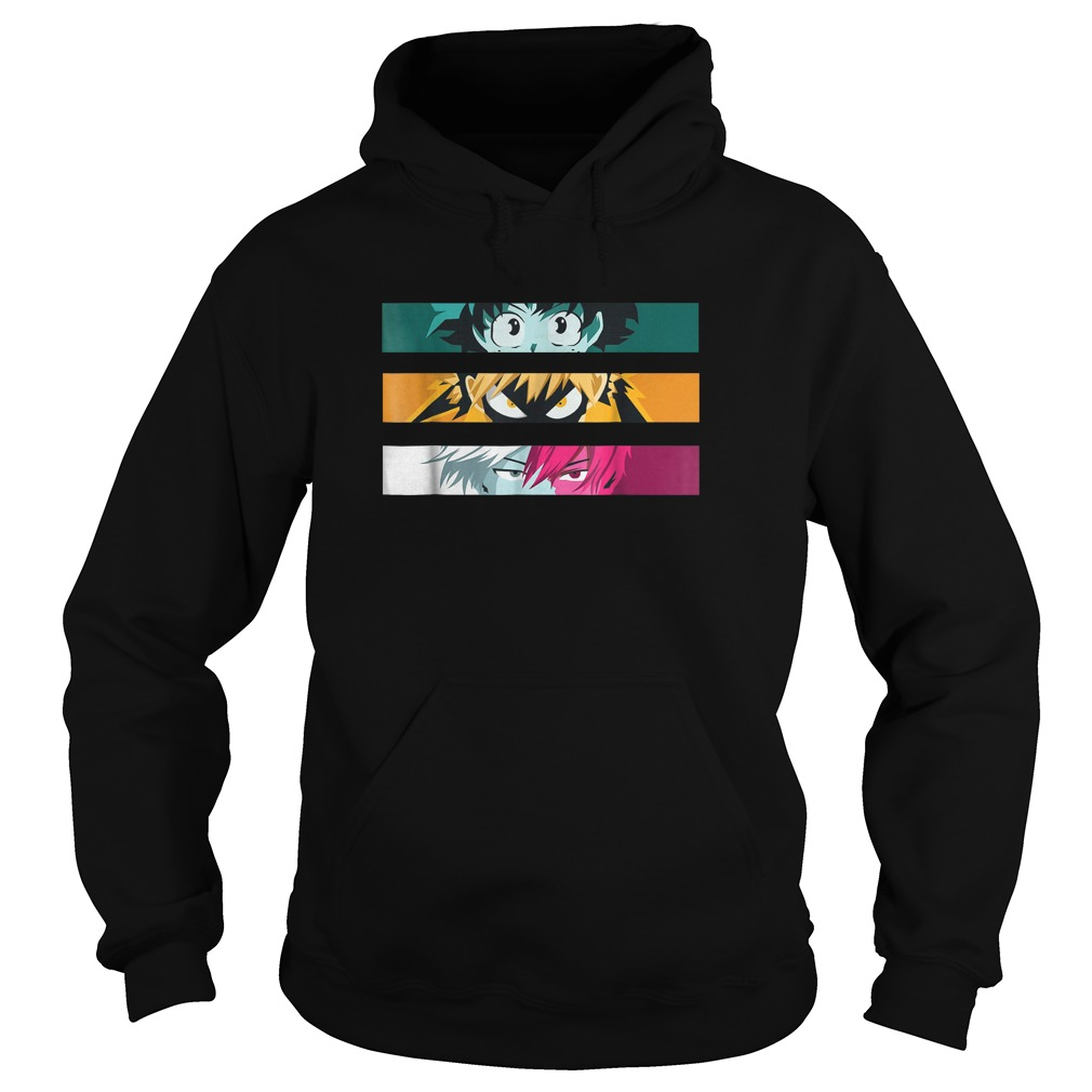 My Heroes Academia All Might Izuku Midorya Anime Shirt Hoodie
