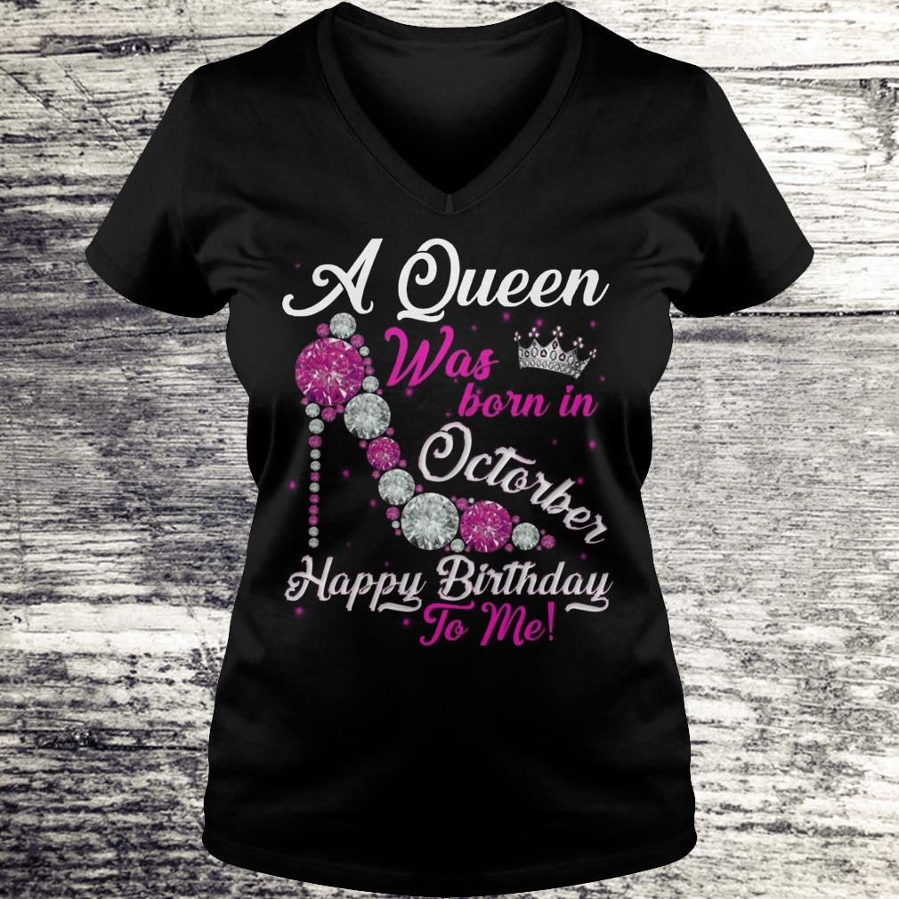 A Queen Was Born In October Happy Birthday To Me