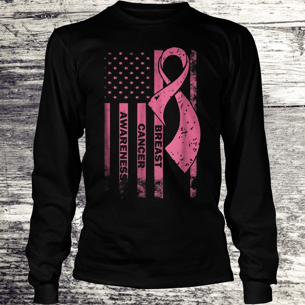 Breast cancer awareness Shirt Longsleeve Tee Unisex