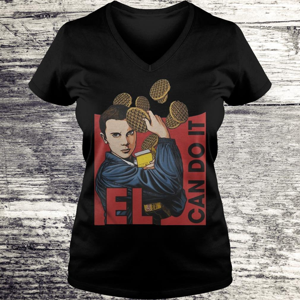 Can Do It Eleven Stranger Things Shirt Ladies V-Neck