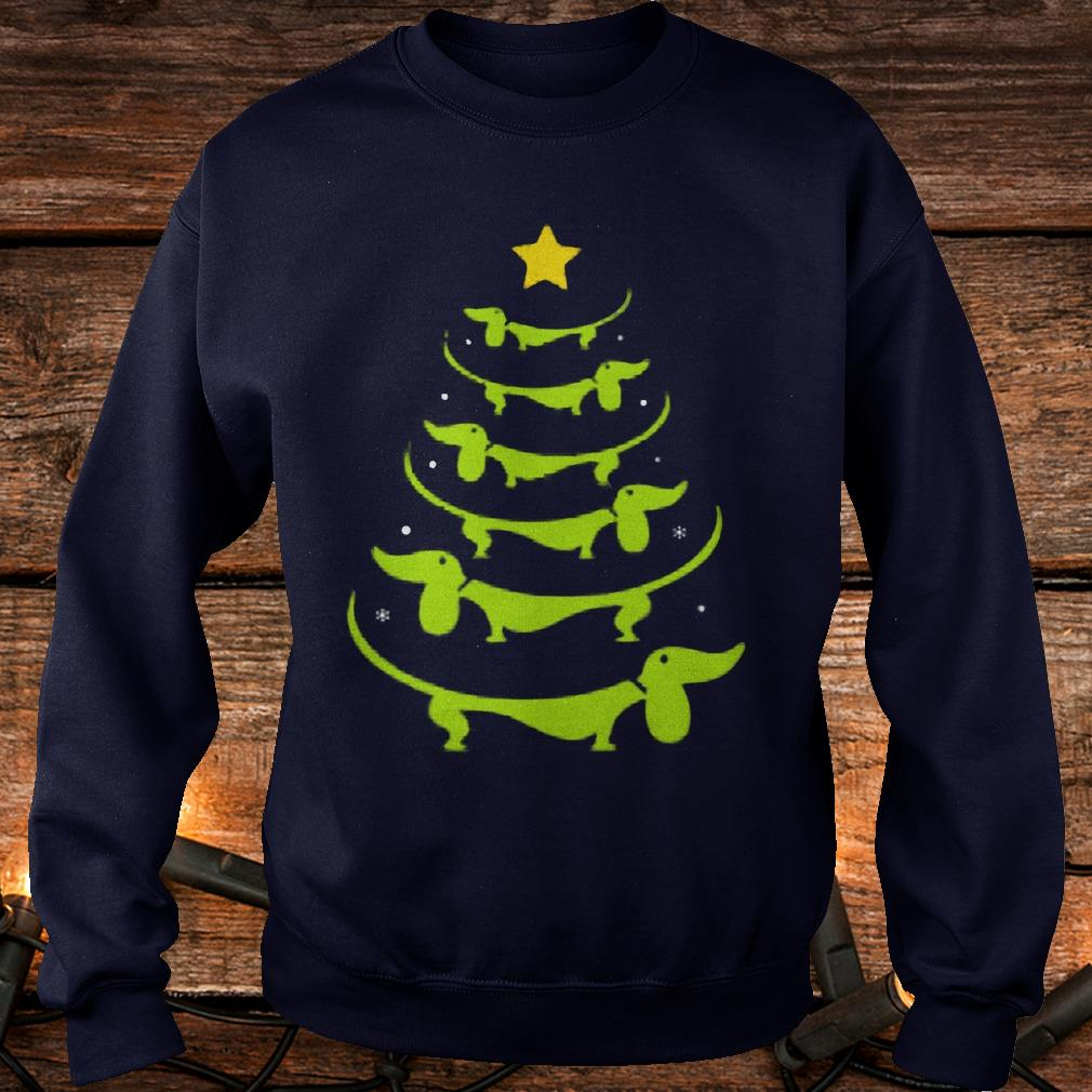 Dachshund Christmas tree ugly sweatshirt Shirt Sweatshirt Unisex