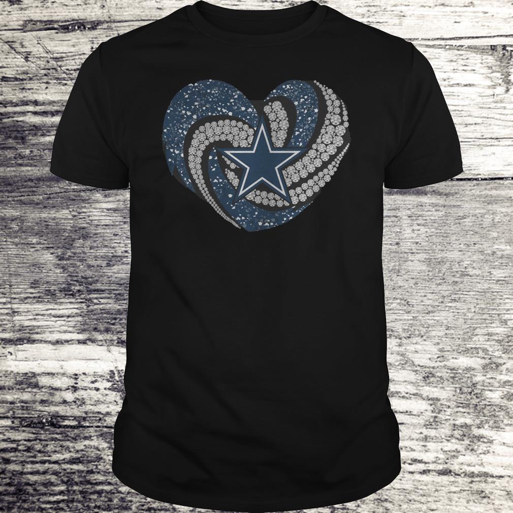 Dallas Cowboys Glitter Diamond Heart Shirt Classic Guys Unisex Tee.jpg