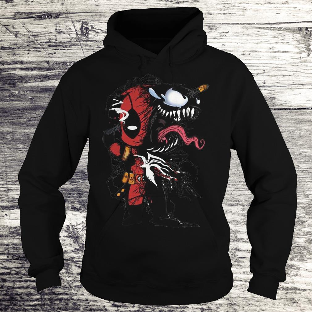 Deadpool Venom Mashup Sweatshirt Hoodie