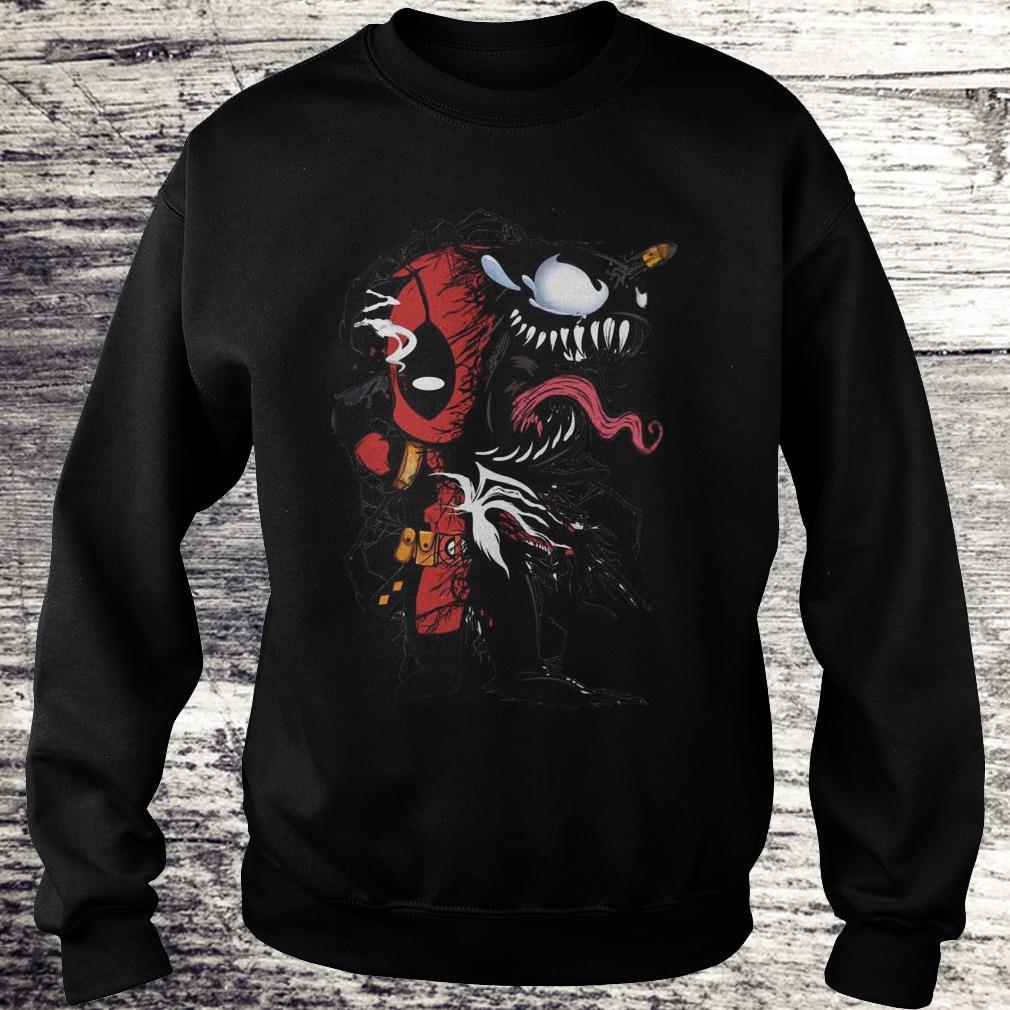 Deadpool Venom Mashup Sweatshirt