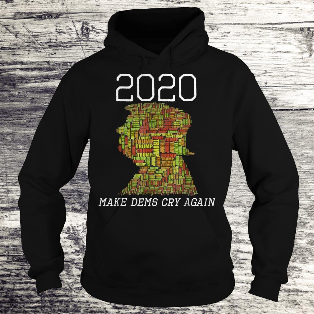Last Christmas As A Miss 2020 Wedding Christmas Jumper: Donald Trump Election 2020 Make Dems Democrats Cry Again