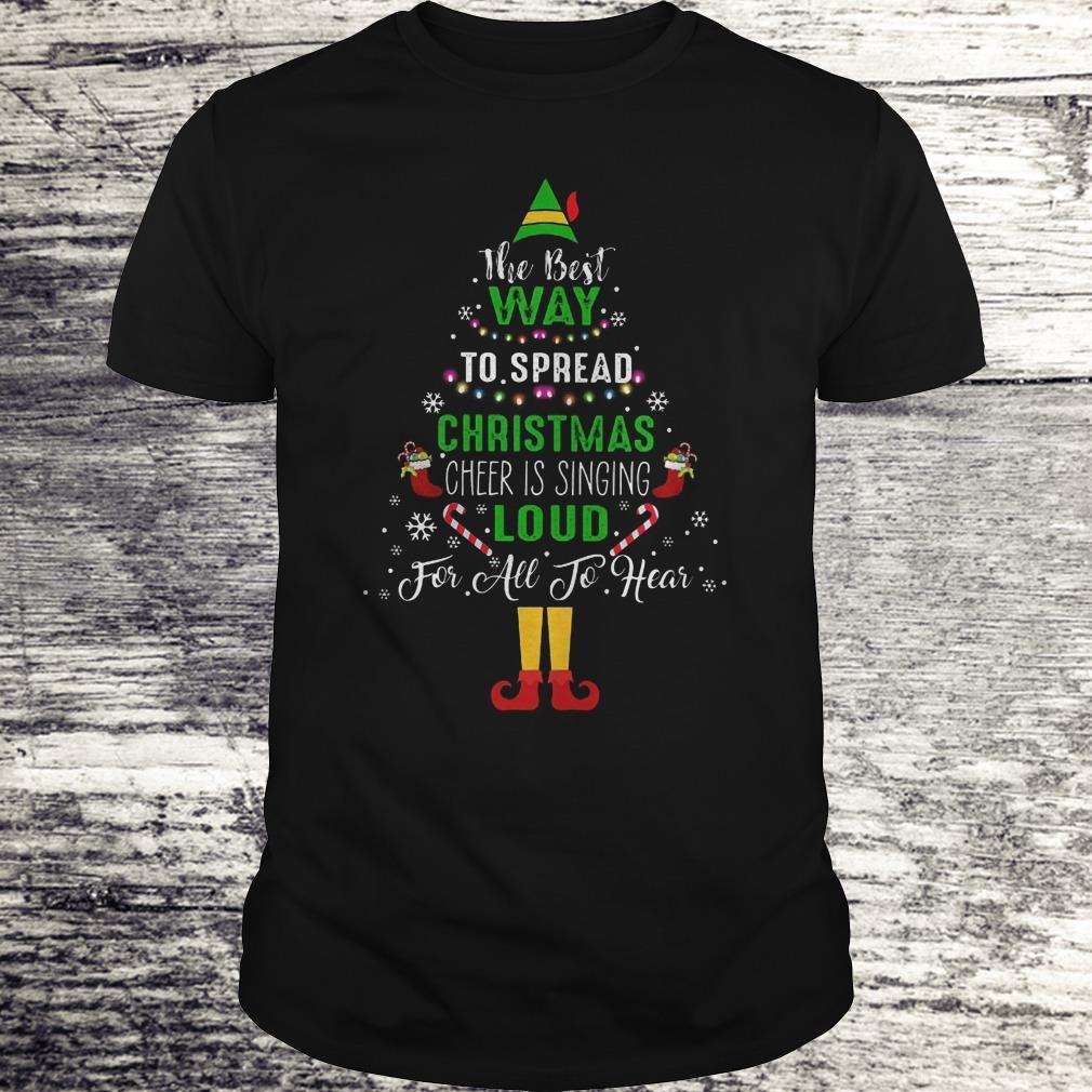 Elf Squad Christmas Shirt The Best Way To Spread Christmas Shirt Classic Guys Unisex Tee.jpg