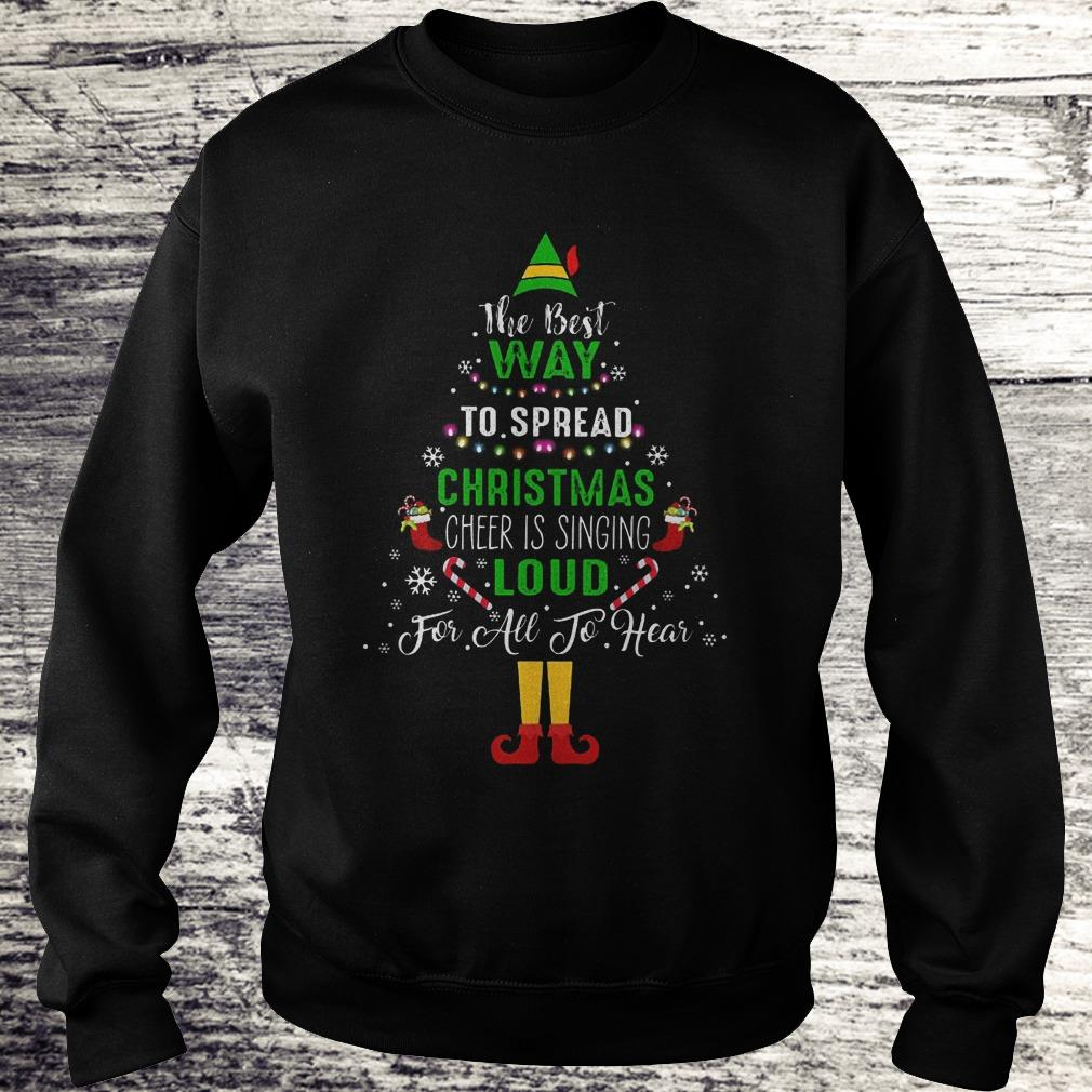 ELF Squad Christmas Shirt The Best Way To Spread Christmas Shirt Sweatshirt Unisex