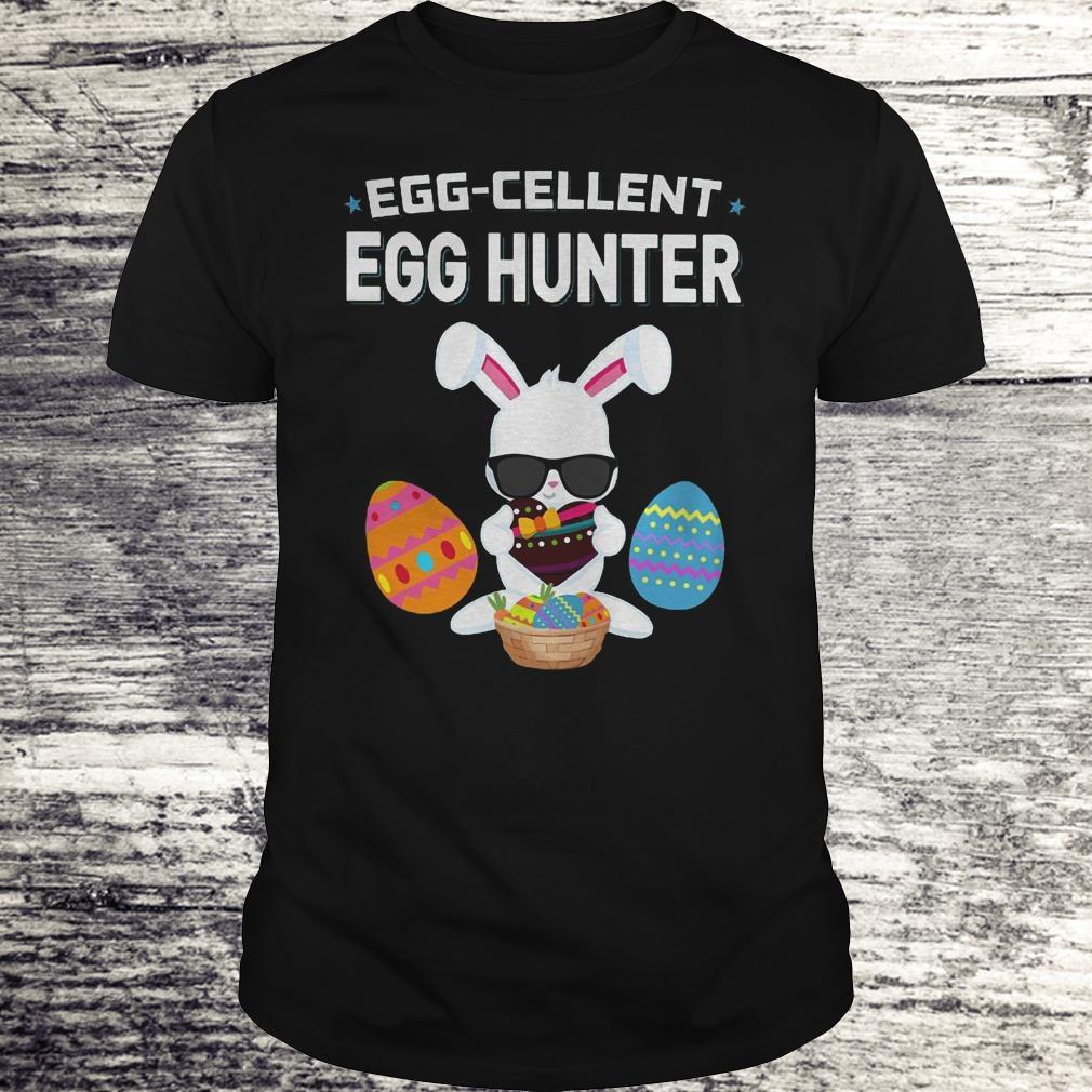 Egg Cellent Egg Hunter Funny Easter Outfit Boys Girls Shirt Classic Guys Unisex Tee.jpg