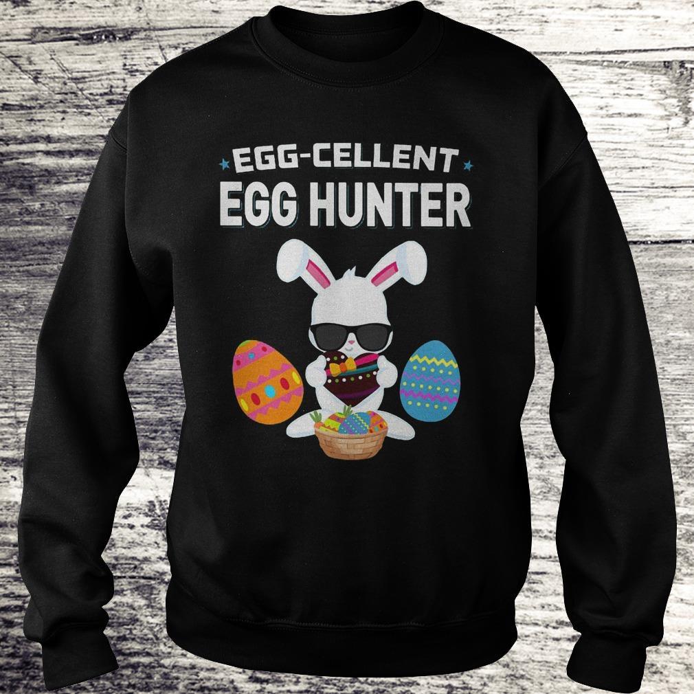 Egg-Cellent Egg Hunter Funny Easter Outfit Boys Girls Shirt Sweatshirt Unisex
