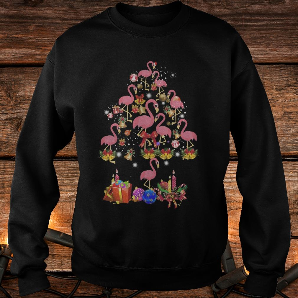 Flamingo Christmas Tree sweater Shirt Sweatshirt Unisex