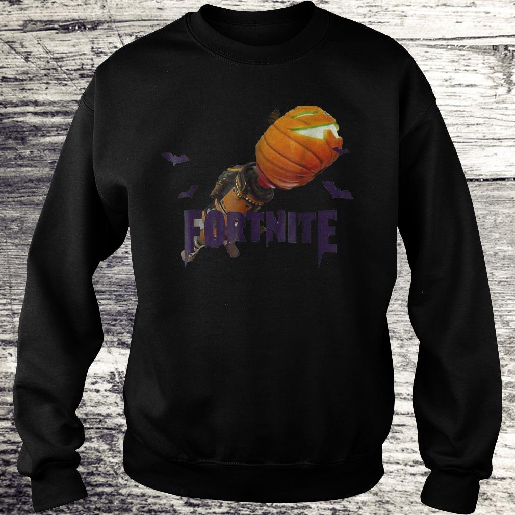 Fortnite Bazooka pumpkin halloween shirt Sweatshirt Unisex