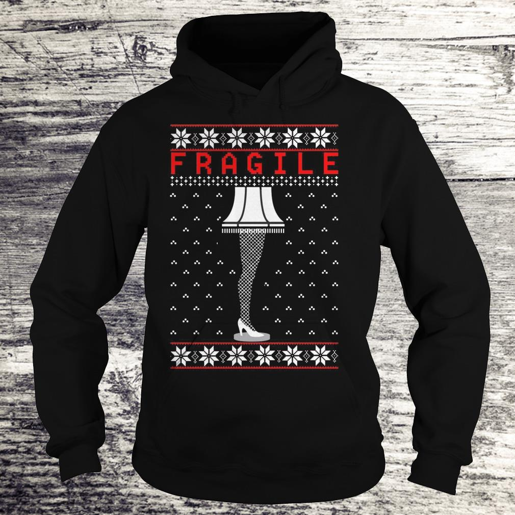 Fragile The Leg Lamp Christmas Shirt Hoodie