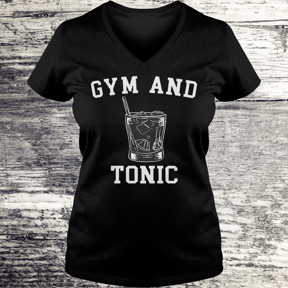 Gym And Tonic Shirt Ladies V-Neck