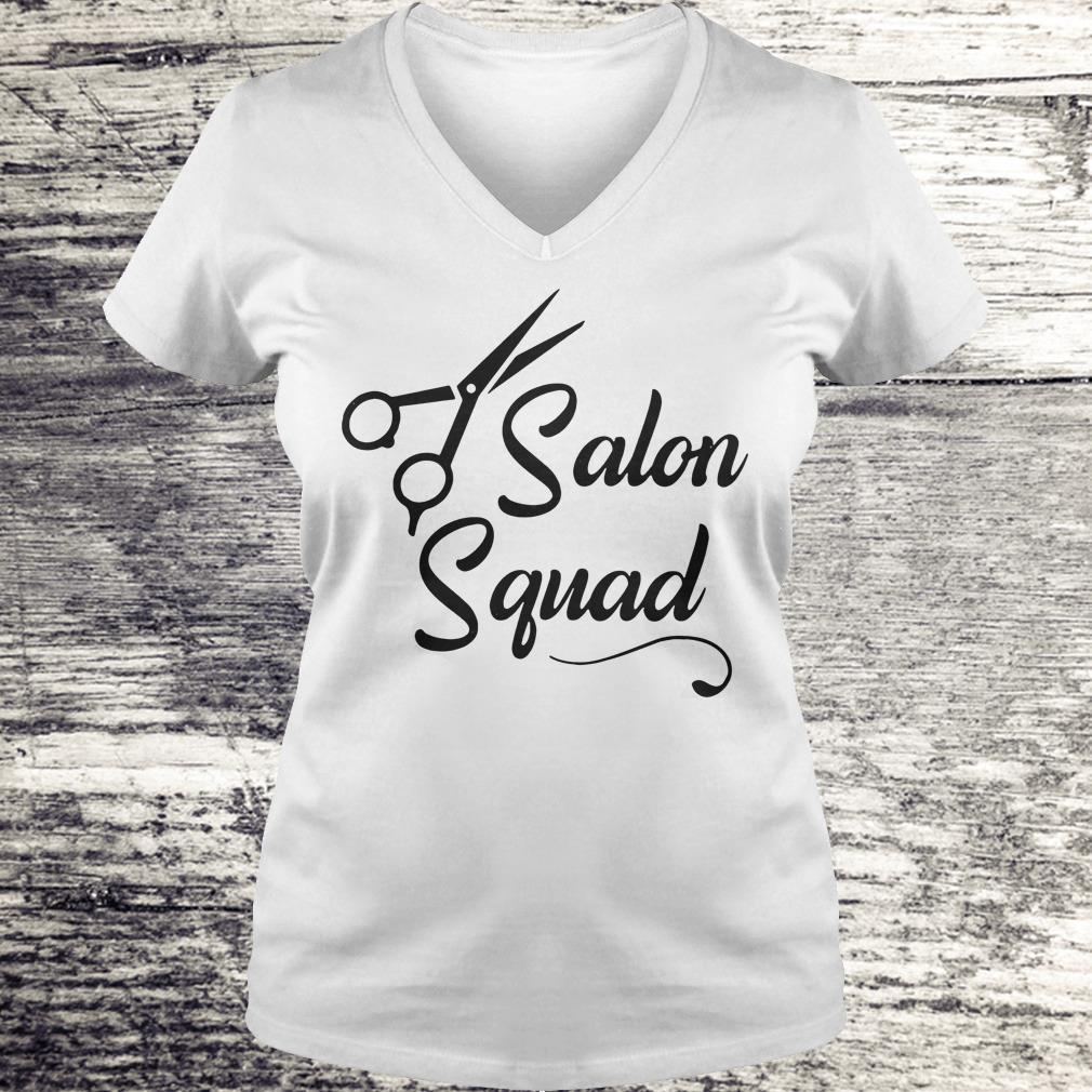 Hair stylist Salon Squad Shirt Ladies V-Neck