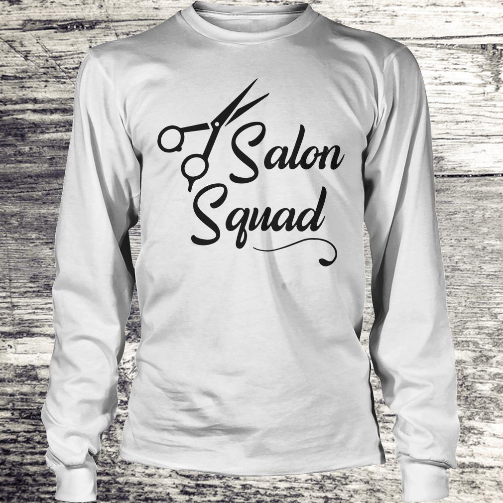 Hair stylist Salon Squad Shirt Longsleeve Tee Unisex