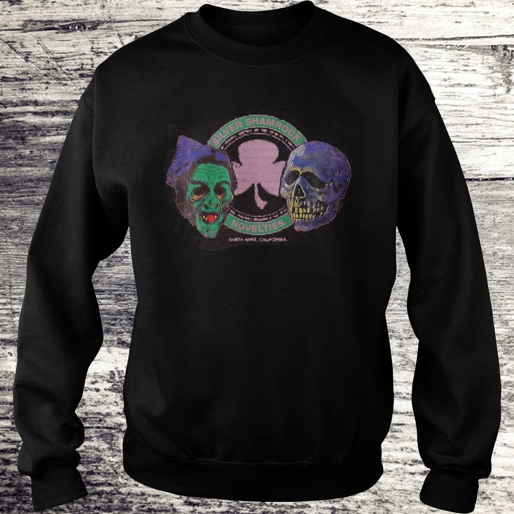 Halloween Silver Shamrock Novelties Shirt Sweatshirt Unisex