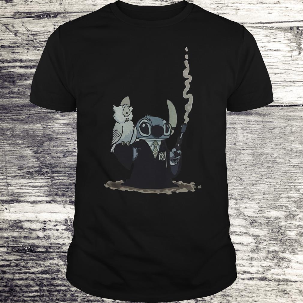 Harry Potter Hedwig And Stitch Mashup Shirt Classic Guys Unisex Tee.jpg