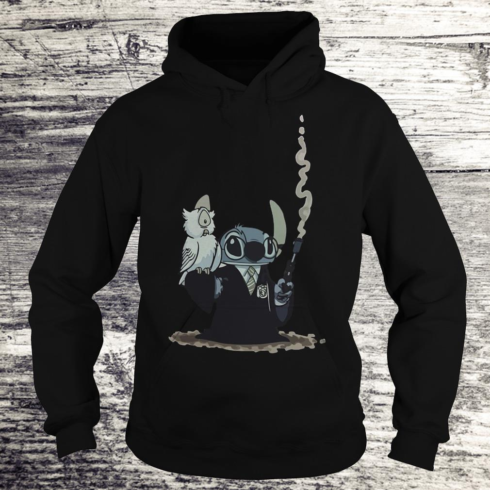 Harry Potter Hedwig And Stitch Mashup Shirt Hoodie
