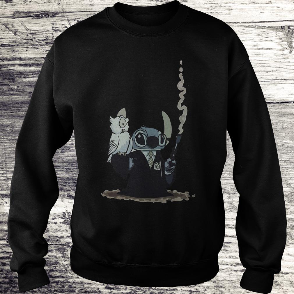 Harry Potter Hedwig And Stitch Mashup Shirt Sweatshirt Unisex