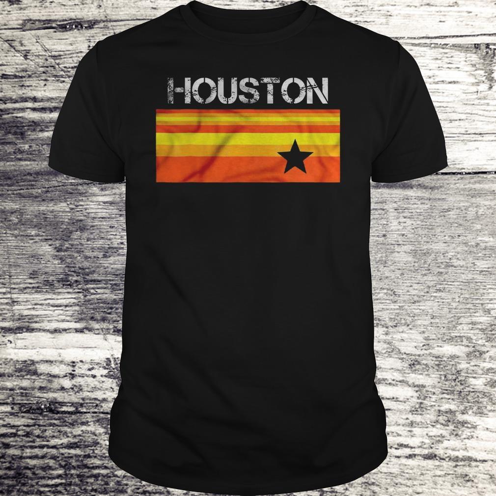 Houston Baseball Throwback Astro Vintage Stripes Version2 Shirt Classic Guys Unisex Tee.jpg