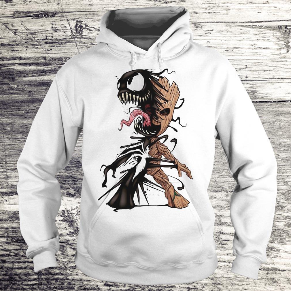 I Am Venom Baby Groot Shirt - Teerockin Shirt Hoodie