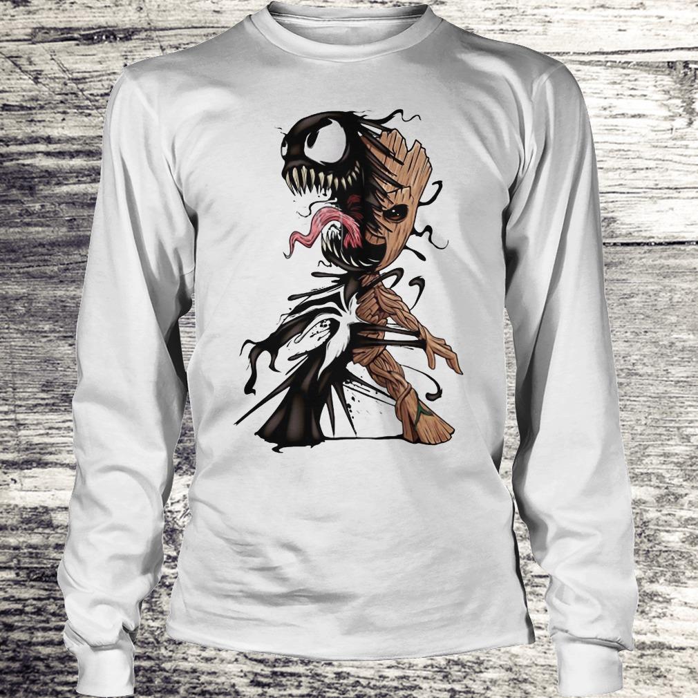 I Am Venom Baby Groot Shirt - Teerockin Shirt Longsleeve Tee Unisex