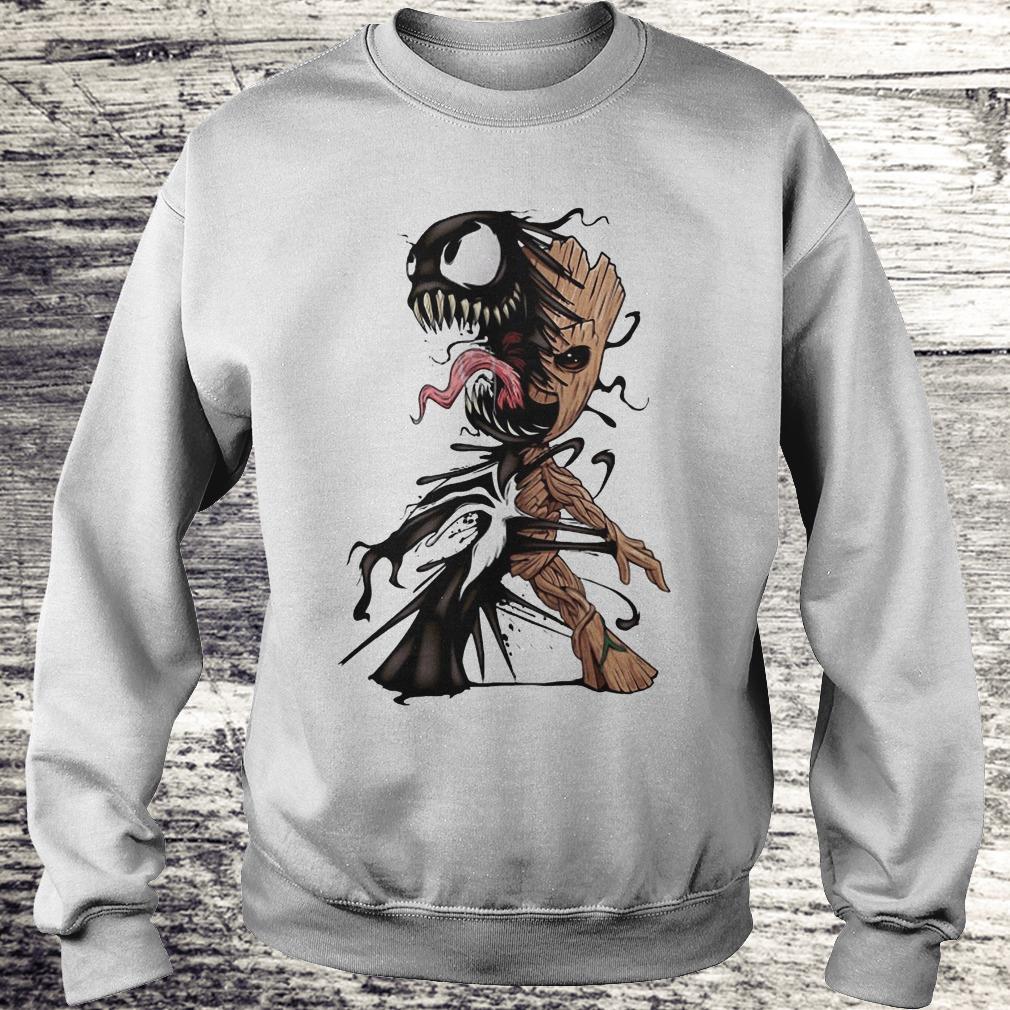I Am Venom Baby Groot Shirt - Teerockin Shirt Sweatshirt Unisex