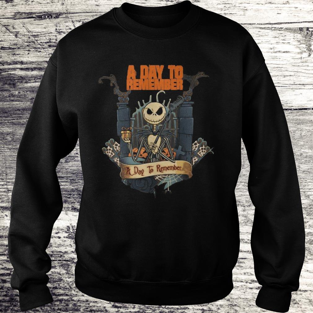 Jack Skellington A day to Remember Shirt Sweatshirt Unisex