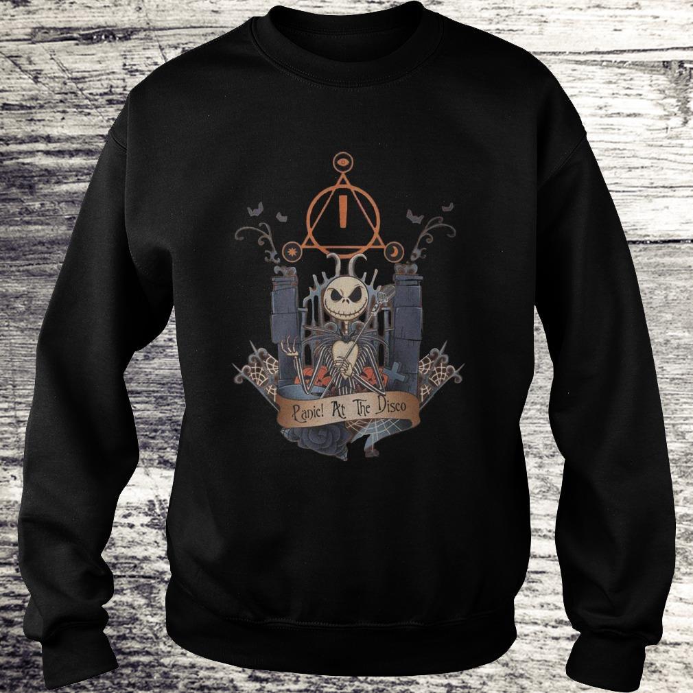 Jack Skellington Panic At The Disco Shirt Sweatshirt Unisex