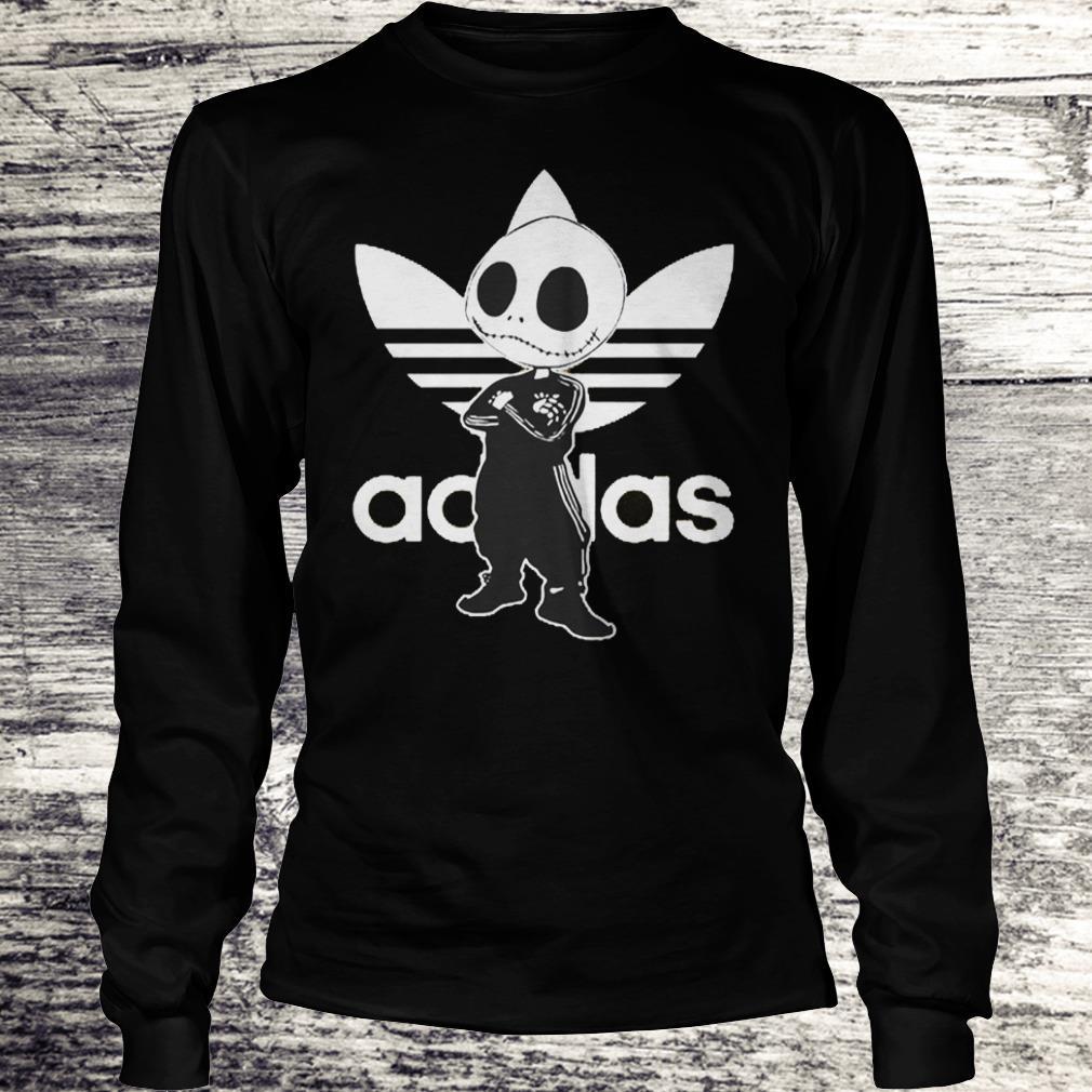 Jack Skellington adidas Shirt Longsleeve Tee Unisex