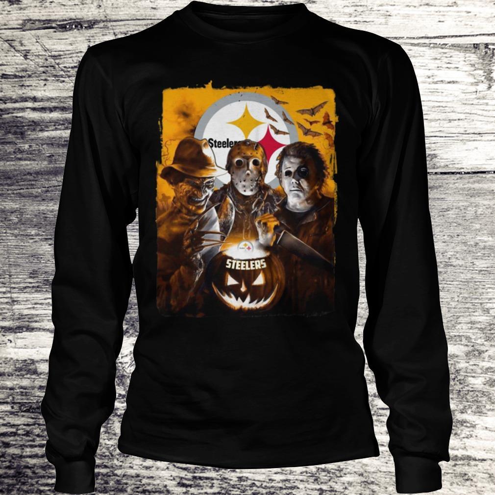 Jason Michael Freddy Pittsburgh Steeler Shirt Longsleeve Tee Unisex