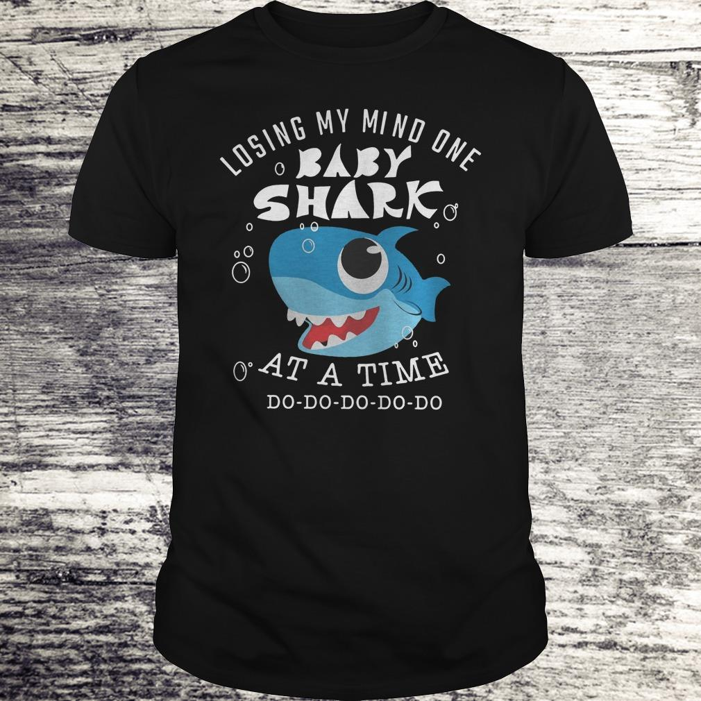 Losing My Mind One Baby Shark At A Time Shirt Classic Guys Unisex Tee.jpg