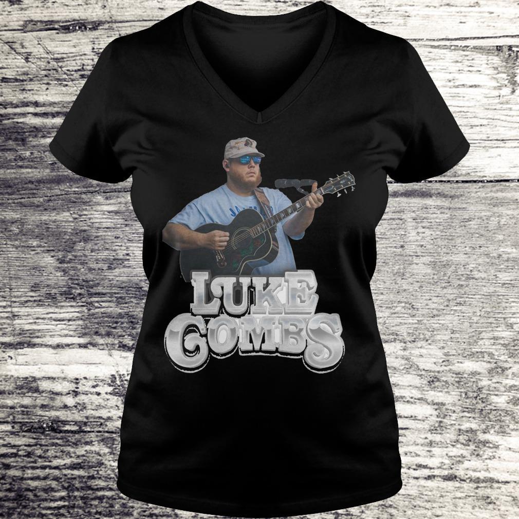 Luke Combs Shirt Ladies V-Neck