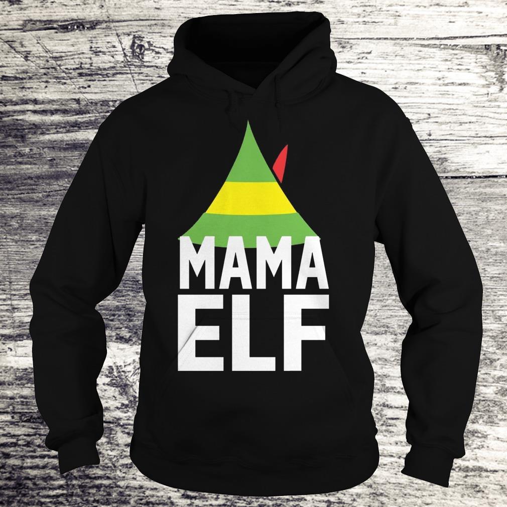 Mama Elf Buddy the elf Christmas Shirt Hoodie