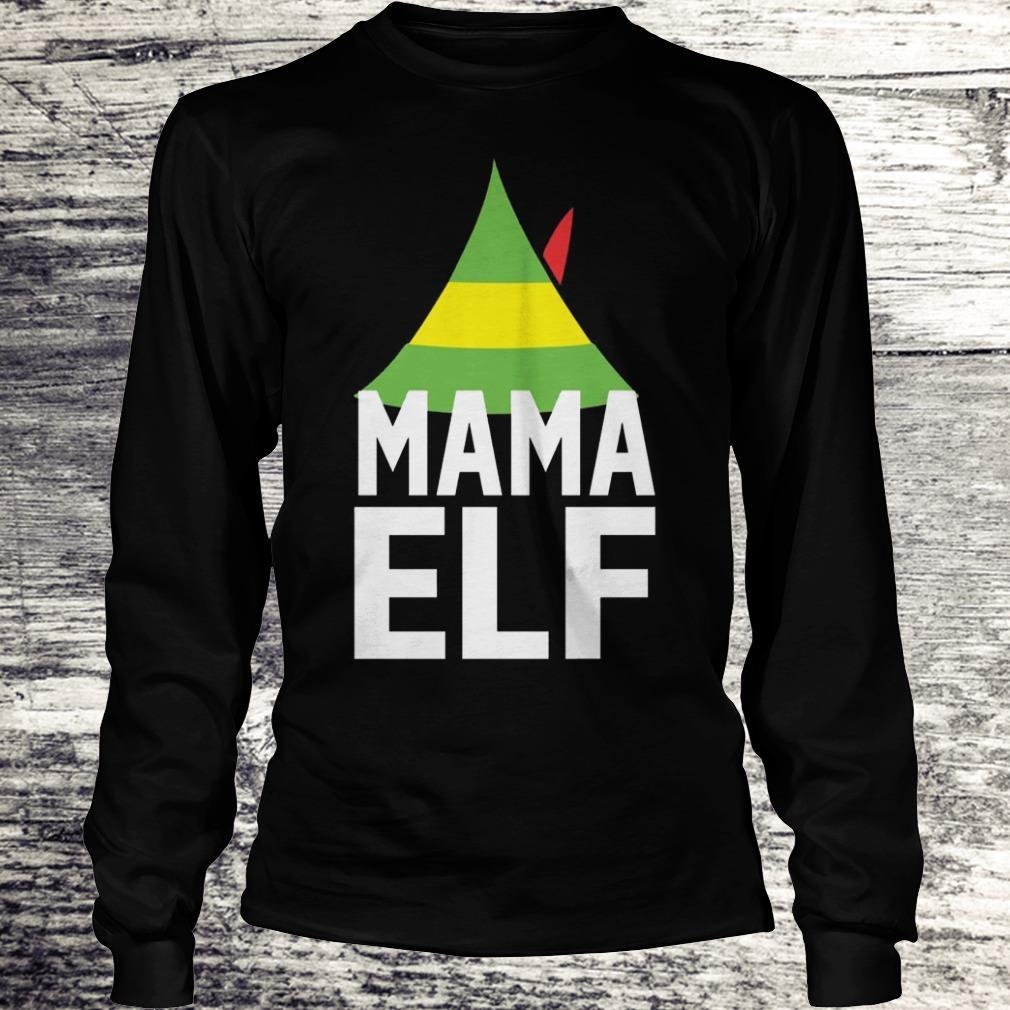 Mama Elf Buddy the elf Christmas Shirt Longsleeve Tee Unisex