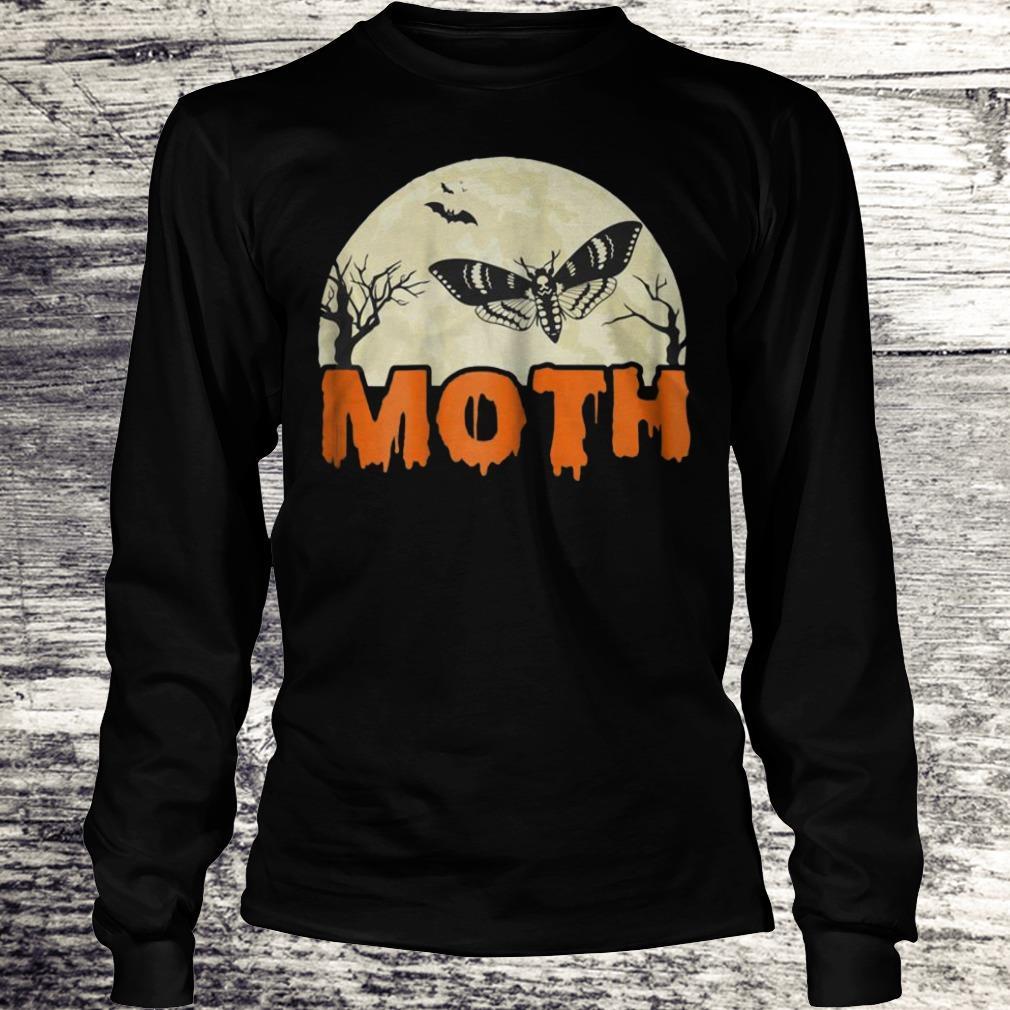 Moth Halloween Costume Sarcastic Meme Couple Shirt Longsleeve Tee Unisex
