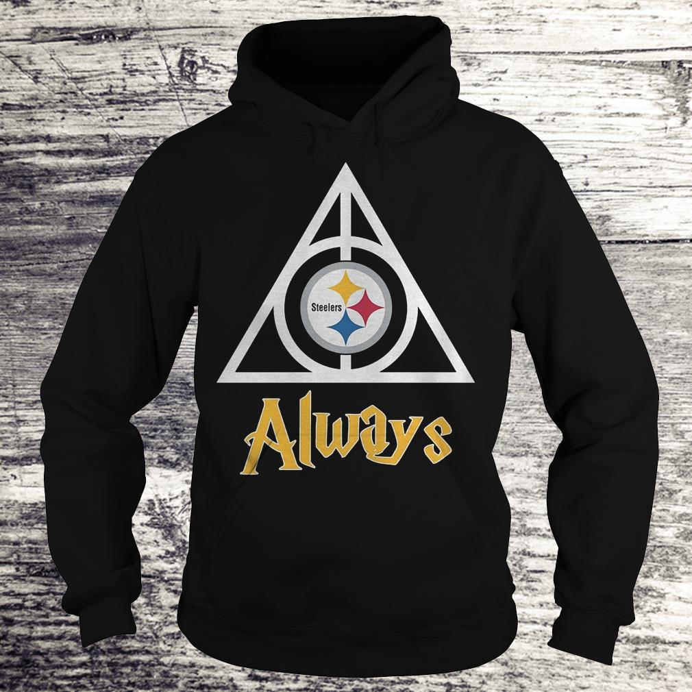 NFL Pittsburgh Steelers Deathly Hallows Always Harry Potter Shirt Hoodie