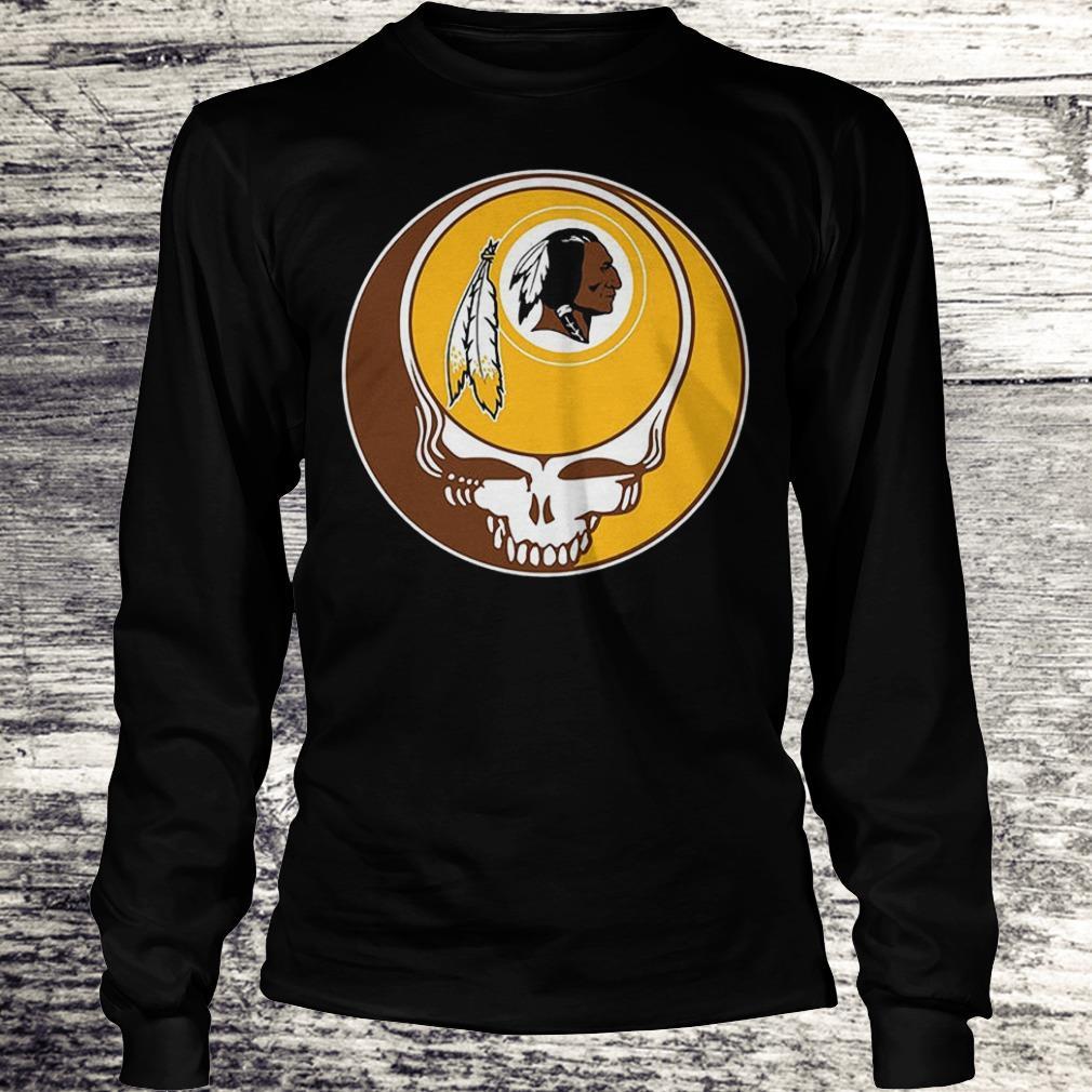 NFL Washington Redskins Grateful Dead Fan Fan Football Shirt Longsleeve Tee Unisex