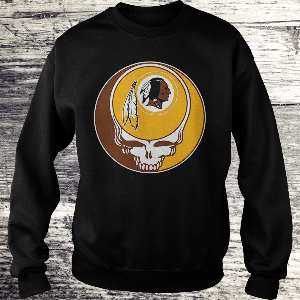 NFL Washington Redskins Grateful Dead Fan Fan Football Shirt Sweatshirt Unisex