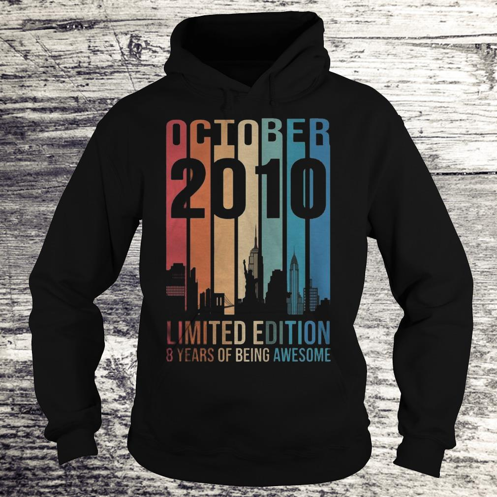 October 2010 Limited Edition 8 Years Of Being Awesome Sweatshirt Hoodie