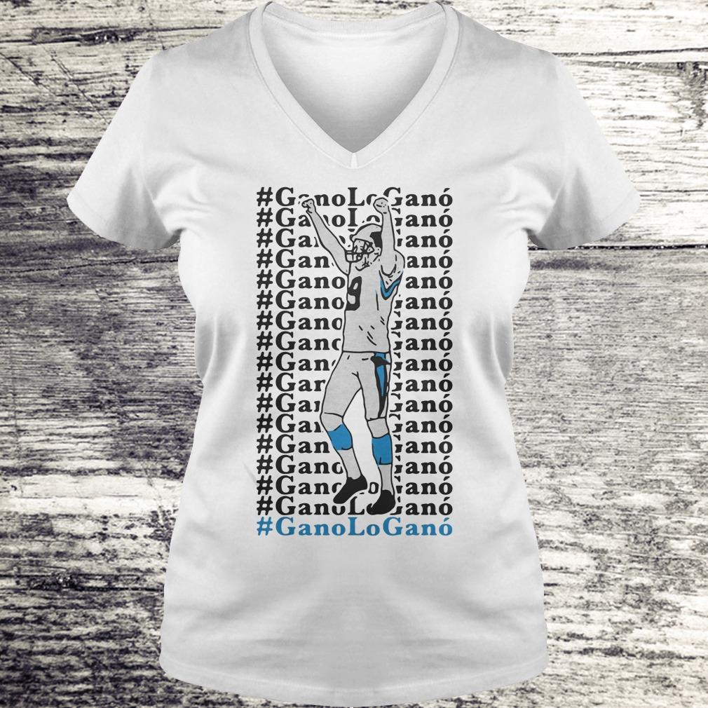 Official GanoLoGanó Carolina Panthers Shirt, hoodie and sweater Shirt Ladies V-Neck