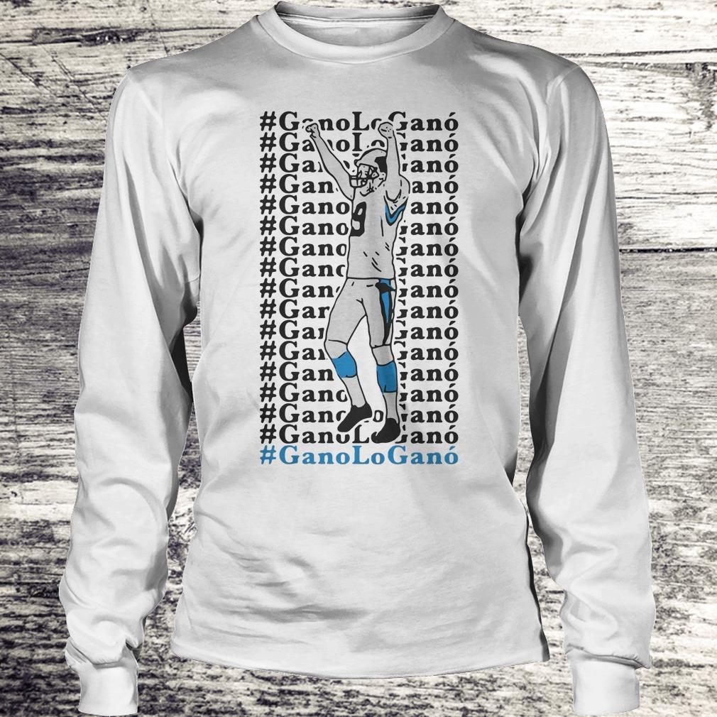 Official GanoLoGanó Carolina Panthers Shirt, hoodie and sweater Shirt Longsleeve Tee Unisex