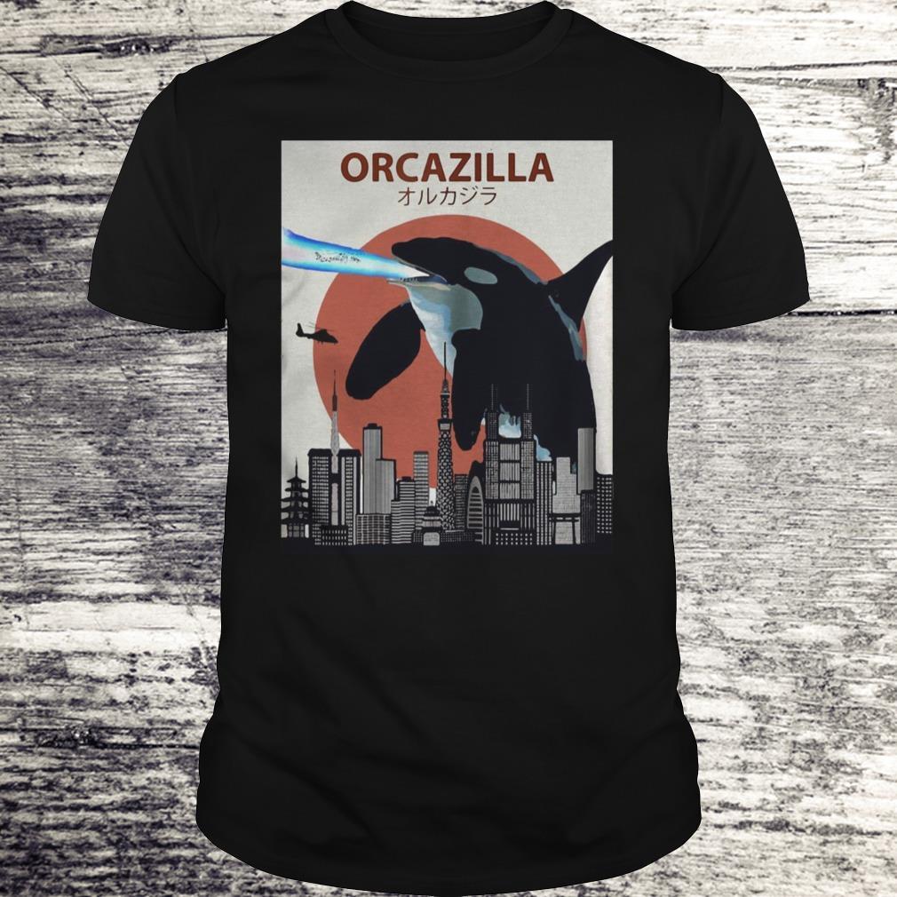 Orcazilla Funny Killer Whale Shirt Classic Guys Unisex Tee 2.jpg
