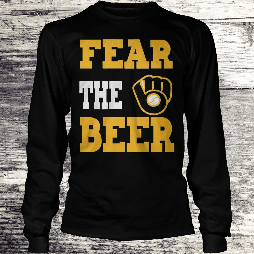 Original Fear the beer Shirt Longsleeve Tee Unisex