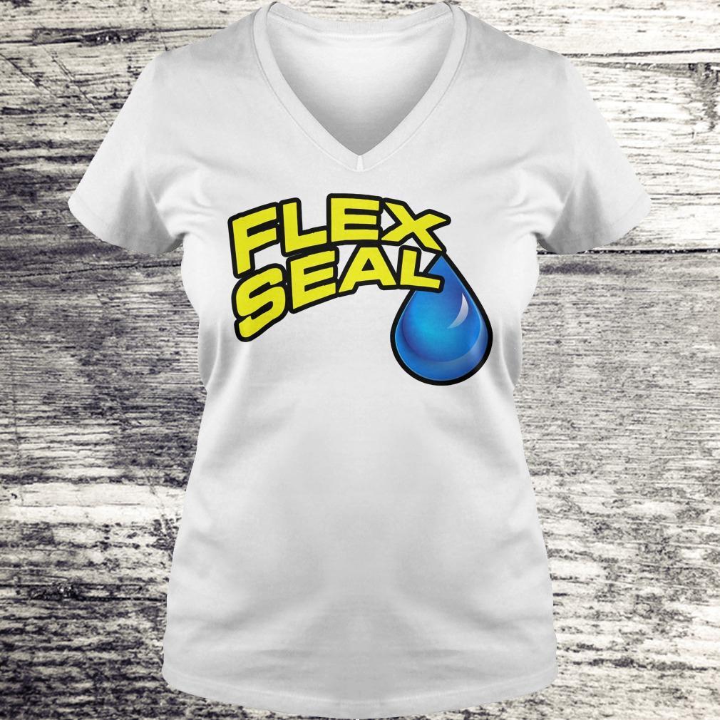 Original Flex Seal Shirt Ladies V-Neck