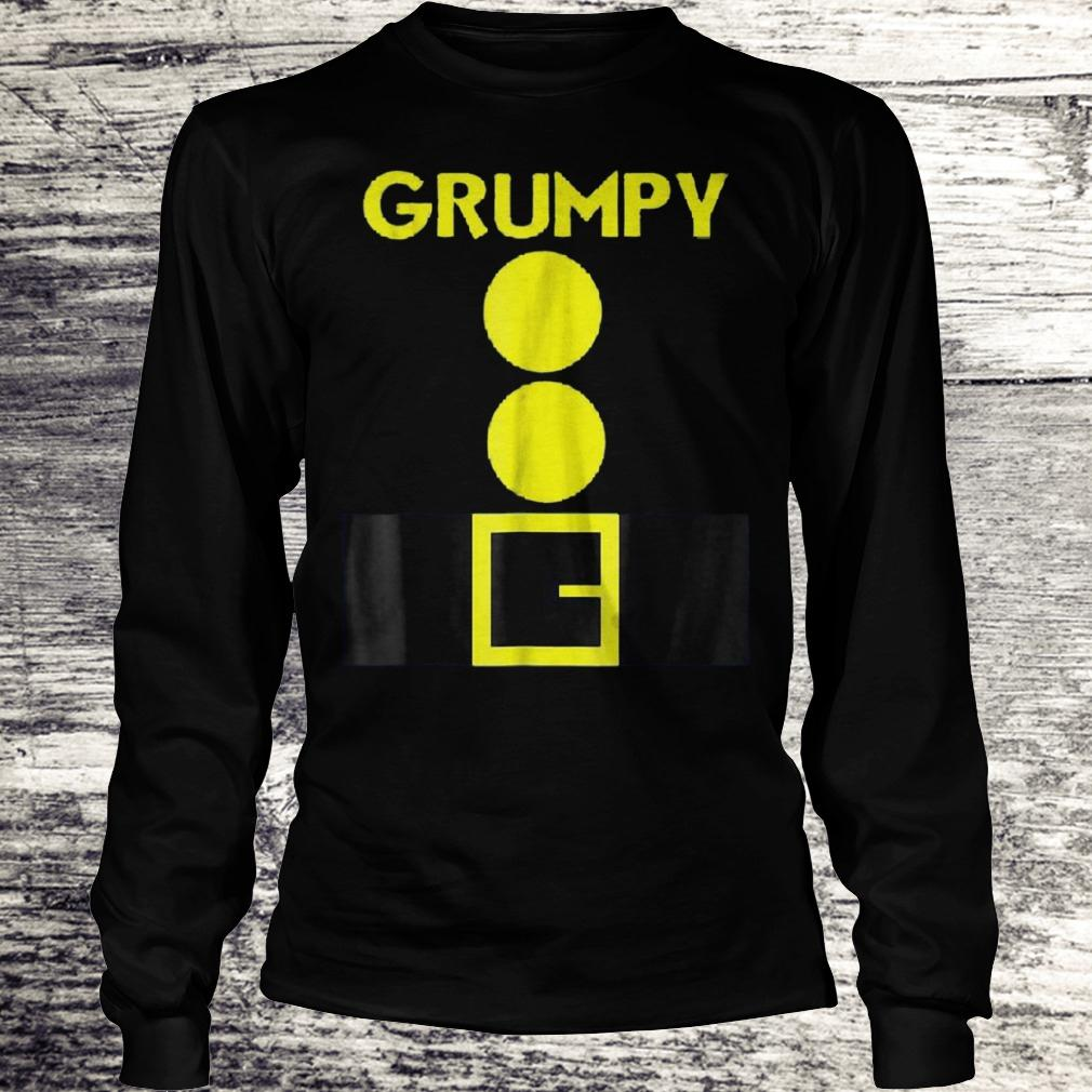 Original Halloween dwarf matching group Grumpy Shirt Longsleeve Tee Unisex
