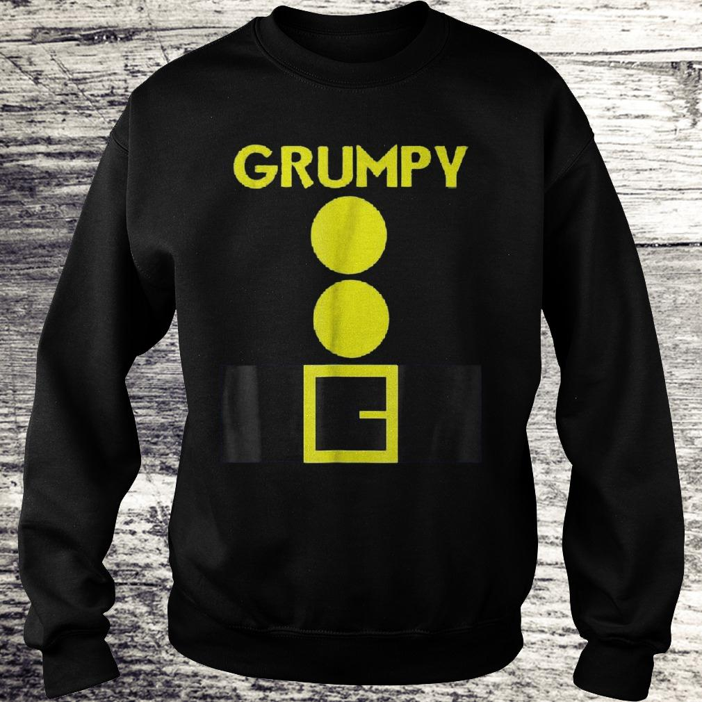 Original Halloween dwarf matching group Grumpy Shirt Sweatshirt Unisex