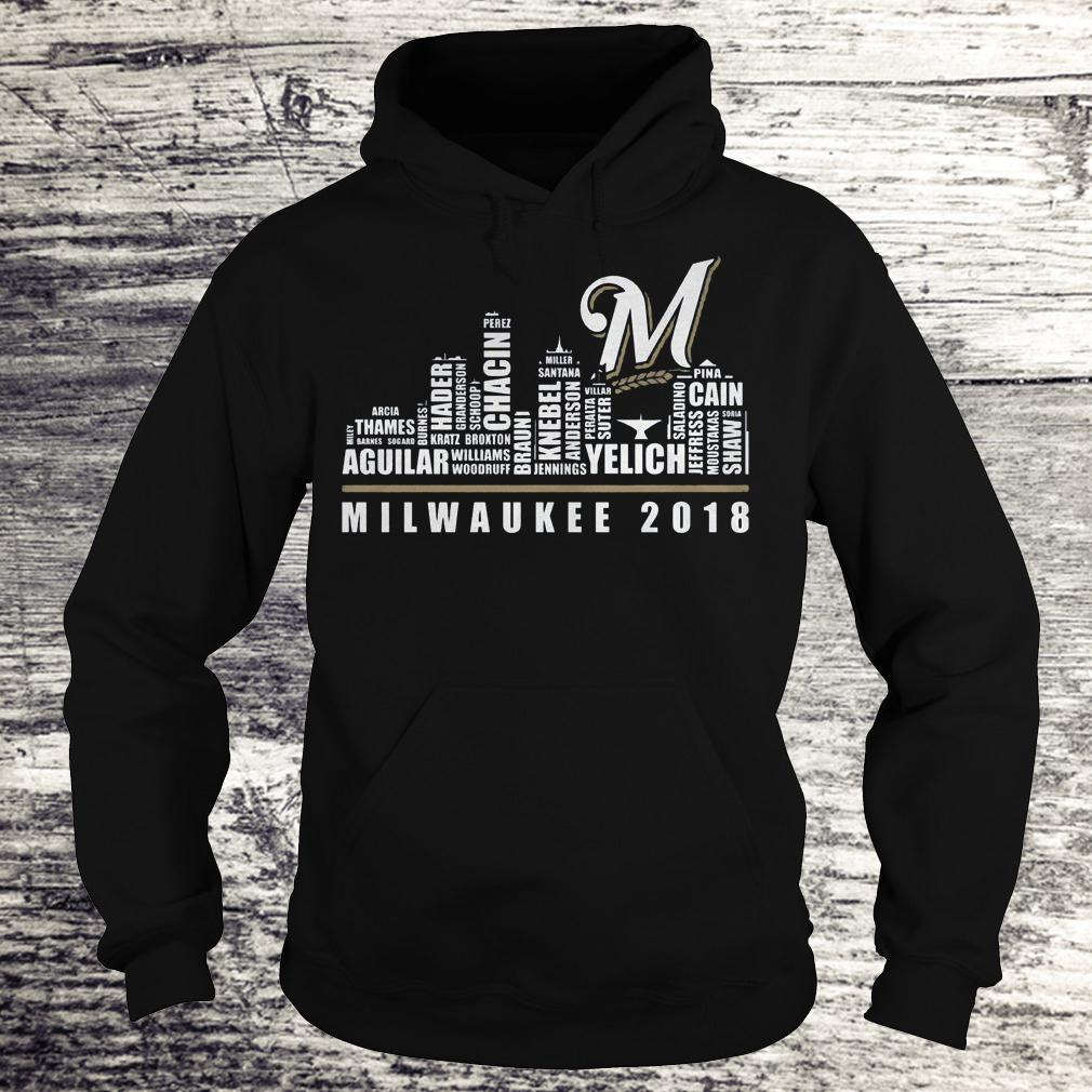 Original Milwaukee 2018 Shirt Hoodie
