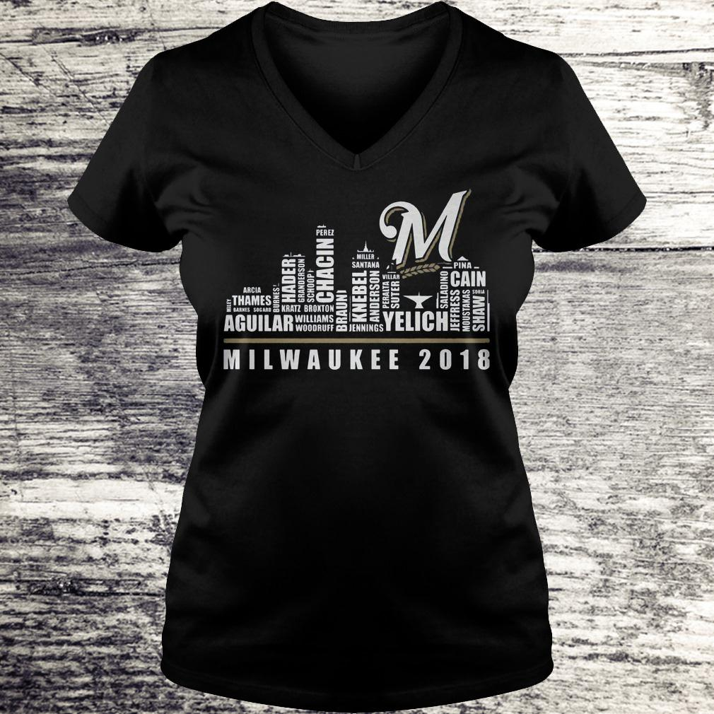 Original Milwaukee 2018 Shirt Ladies V-Neck